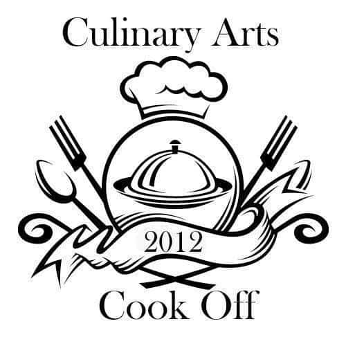 Culinary Arts Cook Off Logo in Black and White