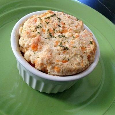 PieDay: Mini Chicken N Biscuit Pot Pies