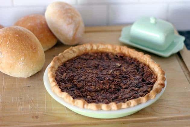 Quebec Maple Sugar Pie - The Kitchen Magpie