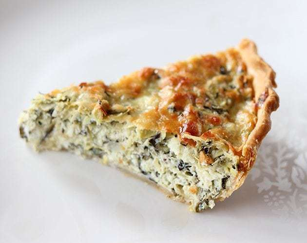 Artichoke & Spinach Pie