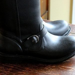 close up of a pair of black boots from Bogs Footwear