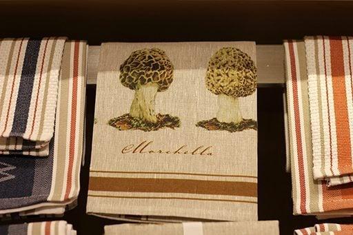 Mushroom tea towels