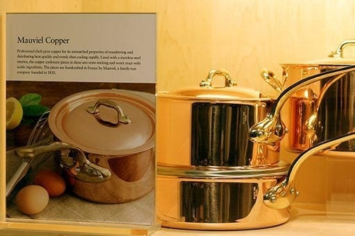 sets of copper cookware