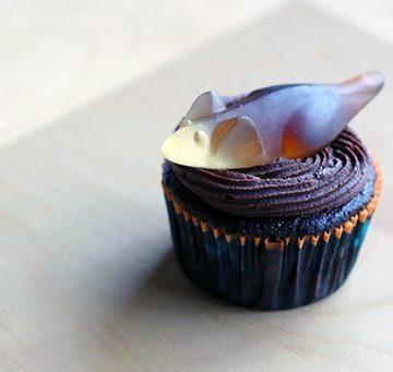 Halloween Mice Cupcakes
