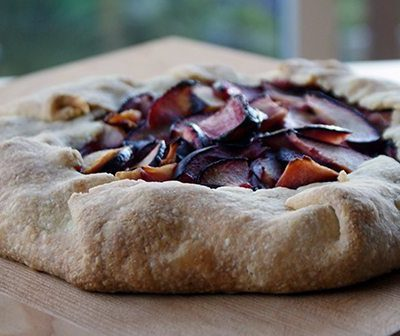 Dinner With Julie's Plum Crostada