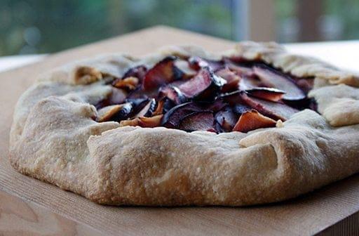 Plum Crostada