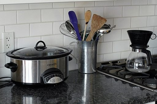 a new Crockpot that matches the kitchen