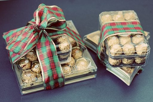 Two Ferrero Rocher gift packs
