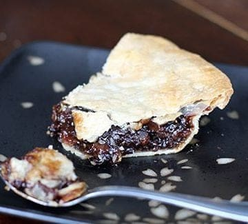 Cheater Mincemeat Pie Recipe