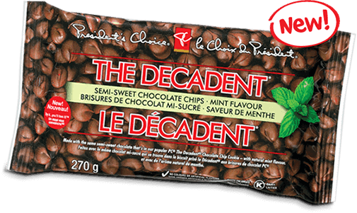 PC The Decadent Mint Chocolate Chips Bag