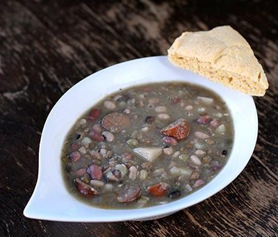 Gluten Free Bean, Potato and Sausage Soup