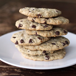 Dairy Free Oatmeal Chocolate Chip Cookie Recipe