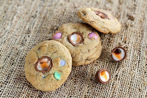 Easter Candy Cookies from @kitchenmagpie
