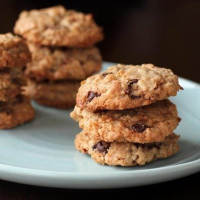 Pecan & Coconut Oatmeal Chocolate Chip Cookie Recipe