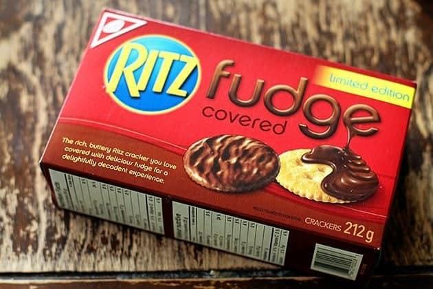 Ritz Stuffed Mint Chocolate Chip Cookie Recipe