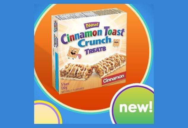 box of cinnamon toast crunch treats