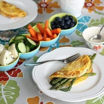 My Sunday Table: Simple Omelette Lunch