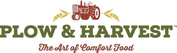 Plow & Harvest logo with an image of farm truck