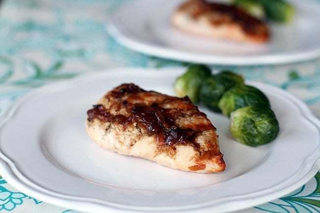Bourbon Bacon Jam Chicken The Kitchen Magpie