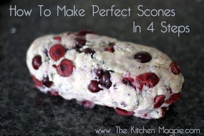 How To Make Perfect Scones in Four Steps