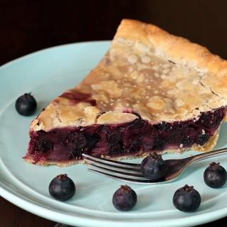 Saskatoons N' Cream Pie