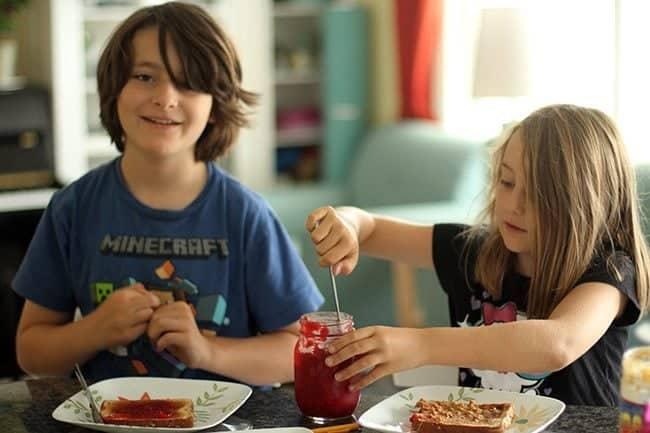 Homemade Raspberry Jam Using Honey - The Kitchen Magpie