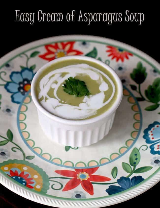 Crockpot Cream of Asparagus Soup Recipe