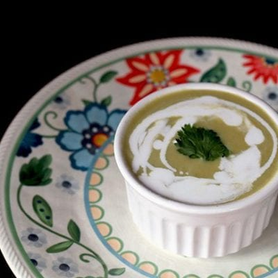 Simple Crockpot Cream of Asparagus Soup Recipe