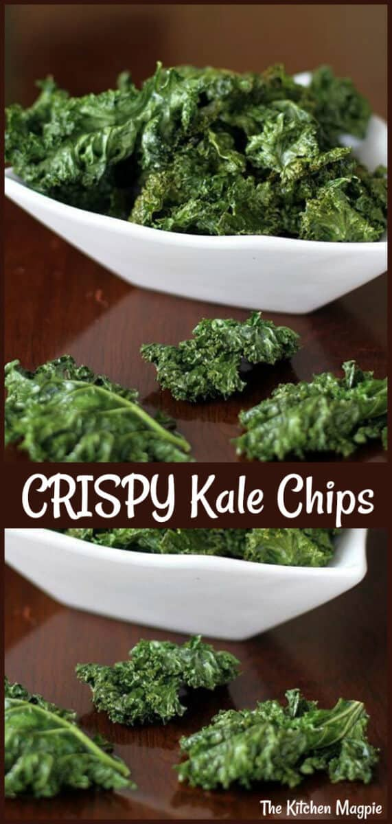 How To Make Kale Chips, and easy, healthy and surprisingly delicious snack that is whipped up in mere minutes! #kale #chips #healthyeating #snacks
