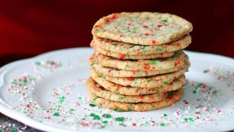 Buttery Peppermint Cookies