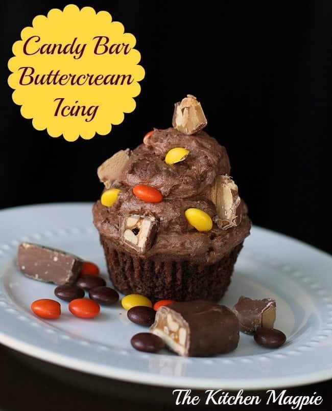 Candy Bar Buttercream Icing