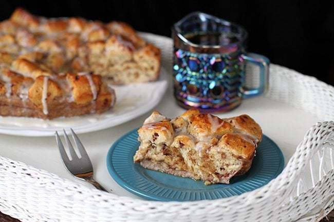 Cinnamon Bun Breakfast Bake