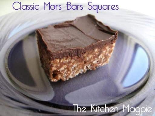 a piece of classic Mars Bars squares