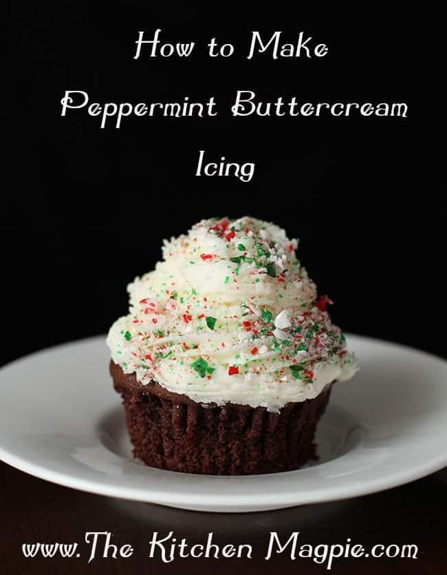 Peppermint Buttercream Icing