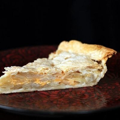 Scalloped Onion Pie