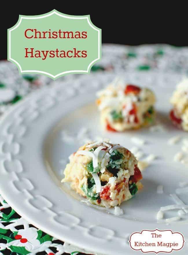 Christmas Haystacks
