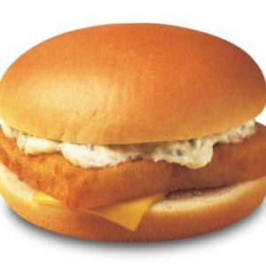 Filet o' Fish with cheese and mayonnaise