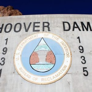 The Hoover Dam Signage and Logo
