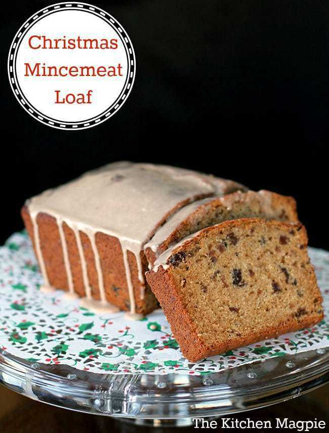 How to make a delicious Mincemeat loaf, perfect for the holiday season! This one is for the mincemeat lovers! #christmas #mincemeat