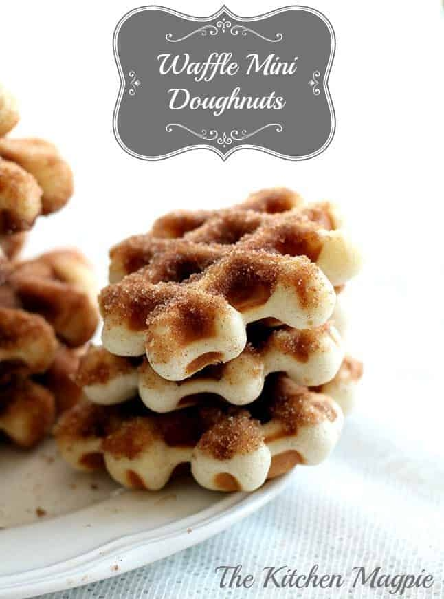 Mini Waffle Donuts The Kitchen Magpie