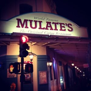 Mulate's Signage with Lights up