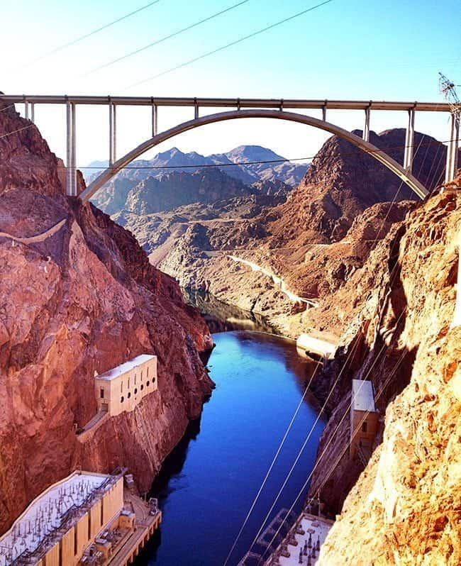 The Beautiful View of Hoover Dam