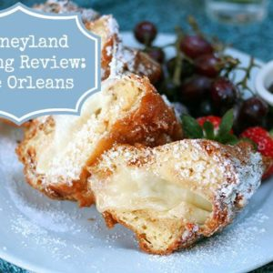 Disneyland Food Review for Cafe Orleans