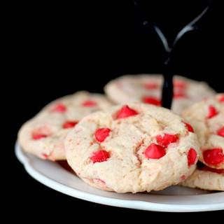 Cherry Cake Cookies