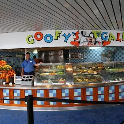 Disney Wonder Dining: Goofy's Galley
