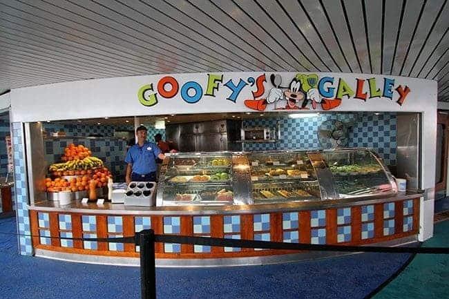 Disney Wonder Dining: Goofy's Galley