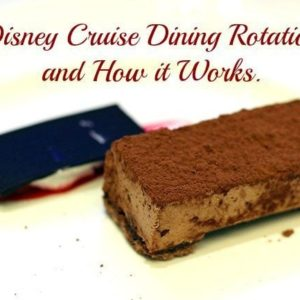 Disney Wonder Dining Rotation