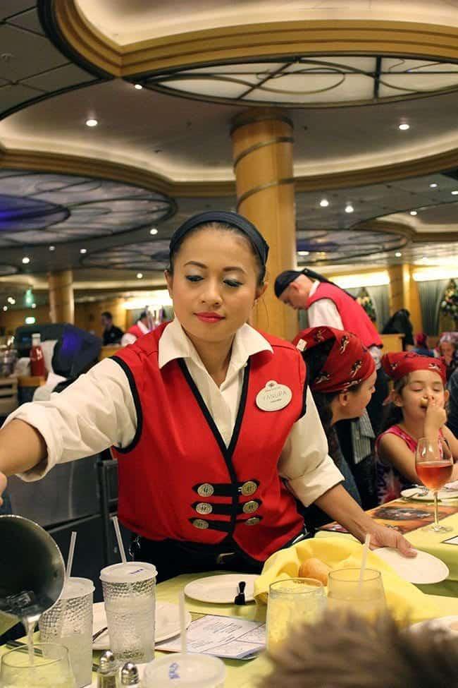 Disney Wonder Dining Rotation