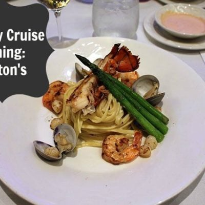 Disney Wonder Dining: Triton's
