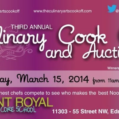 The 2014 Culinary Arts Cook Off, March 15th!